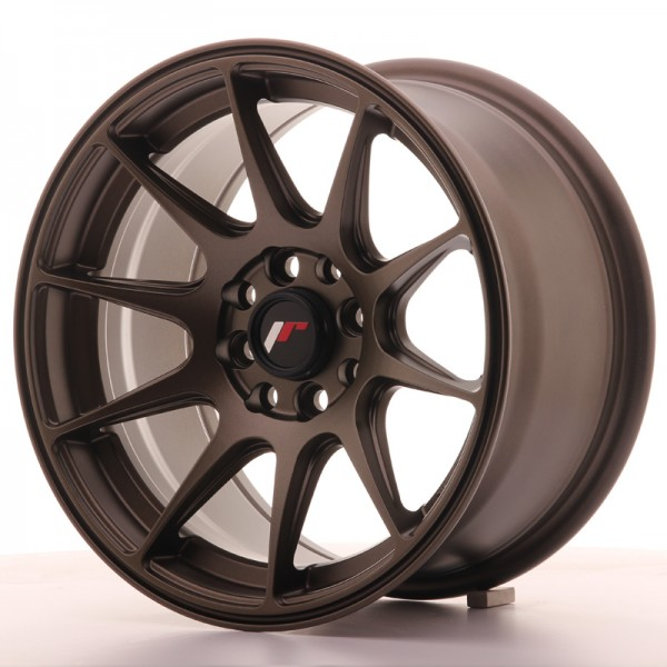 Japan Racing JR11 15x8 ET25 4x100/114 Matt Bronze