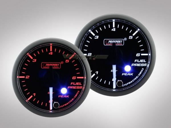 Prosport Benzindruck Anzeige Clear Lens Premium Serie 52mm