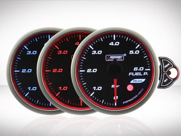 Prosport Benzindruck TRC HALO Premium Serie 52mm