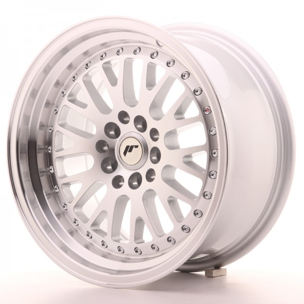 Japan Racing JR10 16x8 ET20 4x100/108 Machined Sil