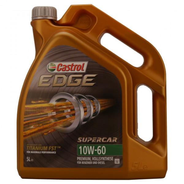 Castrol EDGE Supercar 10W-60 5L Kanne