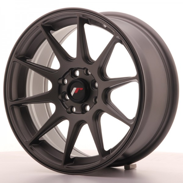 Japan Racing JR11 16x7 ET25 4x100/108 Matt Gun Met