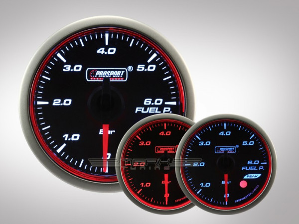 Prosport Benzindruck WRC HALO Premium Serie 52mm