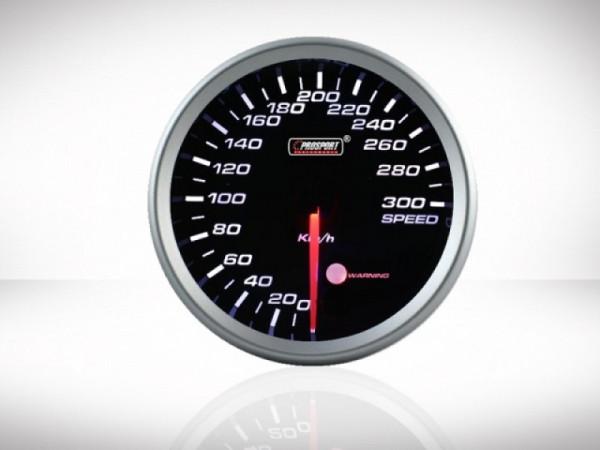 Prosport Geschwindigkeitsmesser Anzeige Racing Serie 80mm