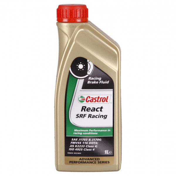 Castrol REACT SRF Racing 1L Dose