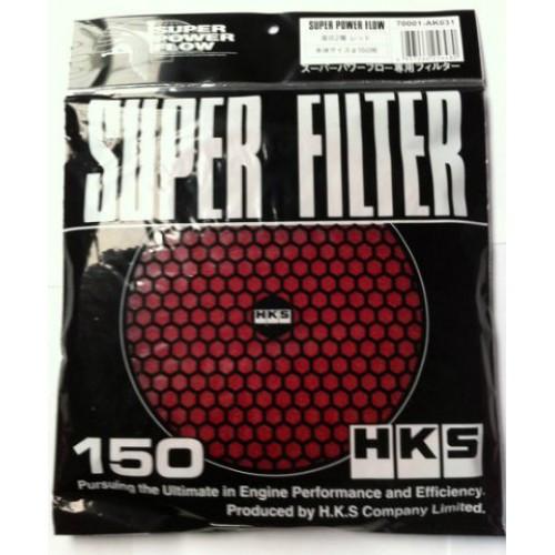 HKS Luftfiltermatte Rot 150mm