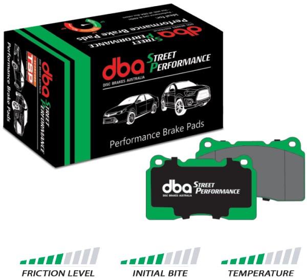 DBA Street Performance Bremsbeläge - Vorne - Nissan Skyline GTR ( Brembo Bremsanlage )