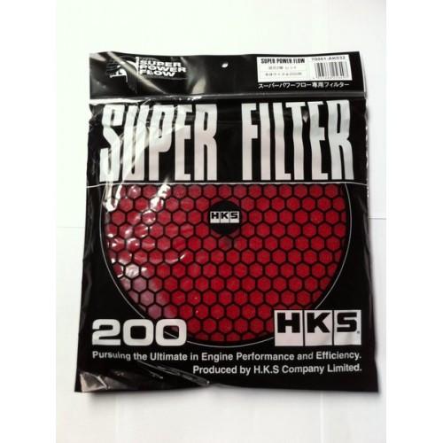 HKS Luftfiltermatte Rot 200mm