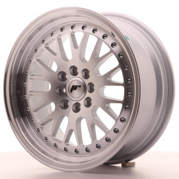 Japan Racing JR10 16x7 ET30 4x100/108 Machined Sil