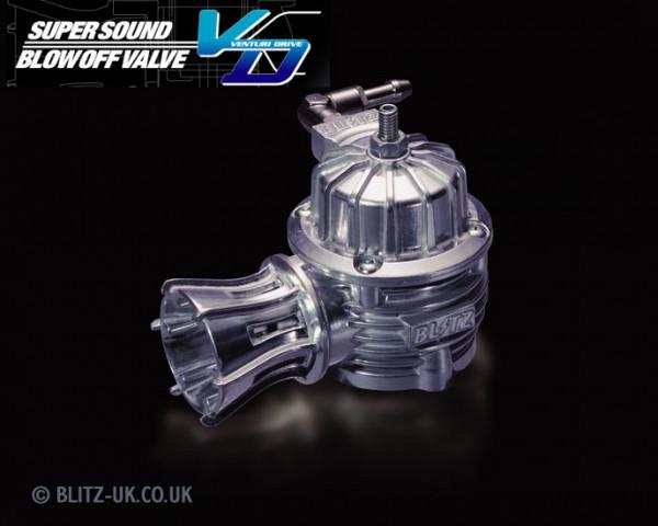 Blitz VD Polished Dump Valve - Nissan Skyline R33 GTST / R34 GTT / R32 GTST