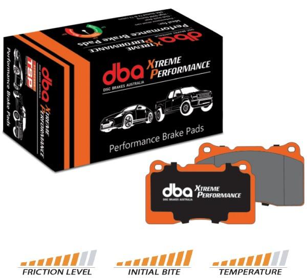 DBA Xtreme Performance Bremsbeläge - Hinten - Nissan Skyline GTR ( Brembo Bremsanlage )