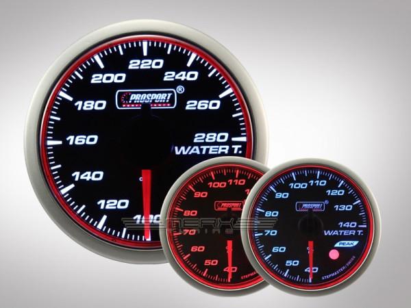 Prosport Wassertemperatur WRC HALO Premium Serie 52mm