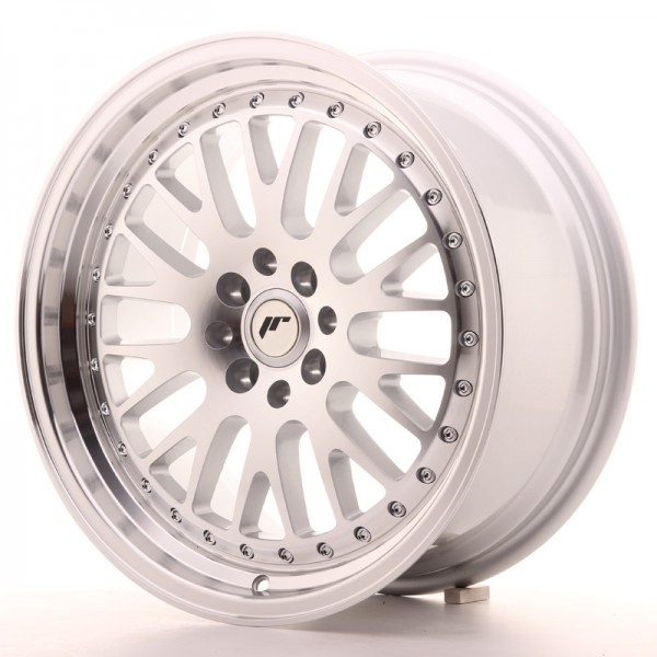 Japan Racing JR10 17x8 ET35 5x100/114 Machined Sil