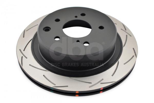 DBA 4000 T3 geschlitzte Bremsscheiben - Hinten - Nissan Skyline R33 GTST / R34 GTT