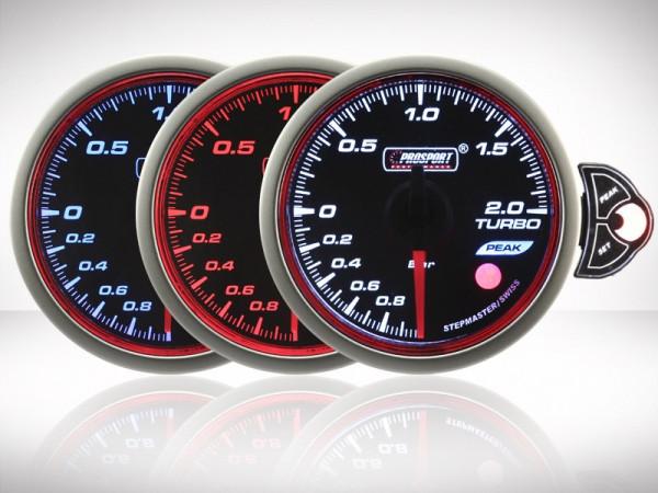 Prosport Ladedruck TRC HALO Premium Serie 52mm