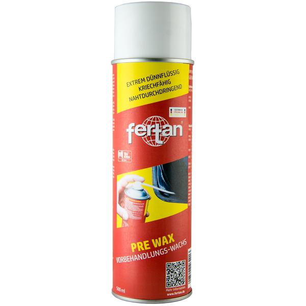 Fertan PRE WAX Vorbehandlungs- Wachs Spray mit Sonde 500ml