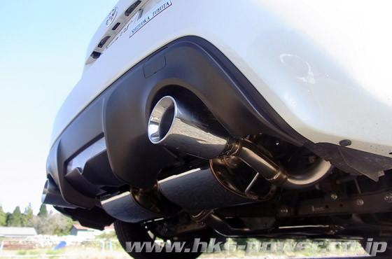 HKS Legamax Sports Exhaust Muffler - Toyota GT86 / Subaru BRZ