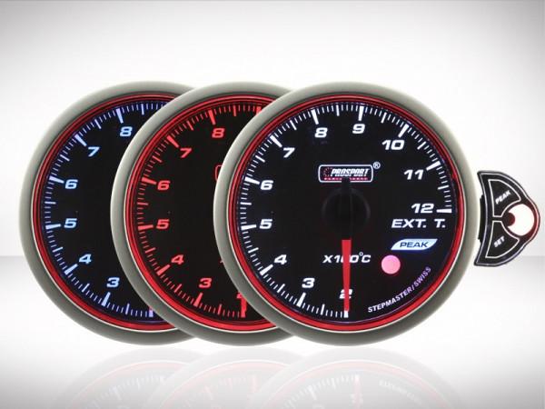 Prosport Abgastemperatur TRC HALO Premium Serie 52mm