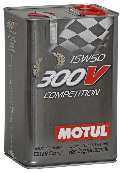 MOTUL 300V Competition 15W50 5L Kanister