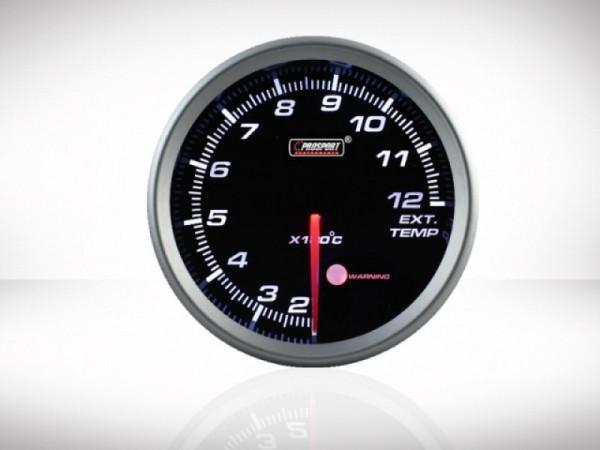 Prosport Abgastemperatur Anzeige Racing Serie 80mm